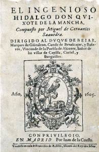 Don Quijote Title Page